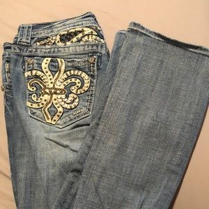 Light Wash Miss Me Jeans
